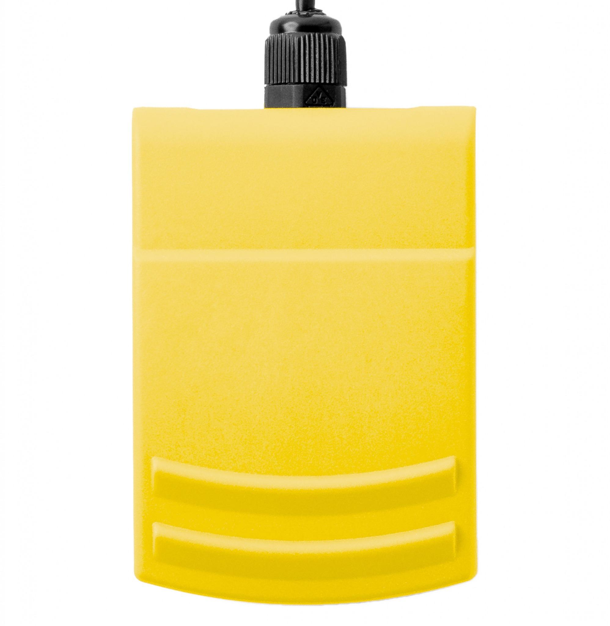 Fußschalter in gelb